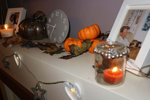Autumnal Living Room Mini Makeover