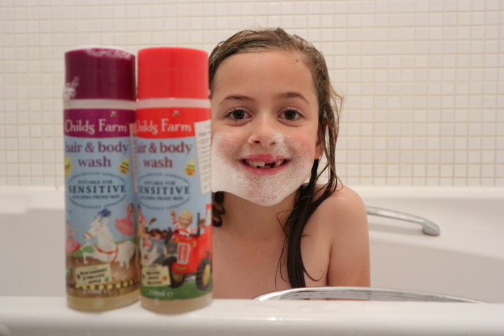 Childs Farm Review –  Bath and Body Wash #sponsored