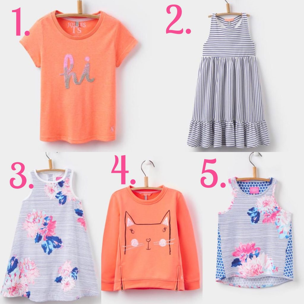 Joules Girls – Spring Style Wishlist