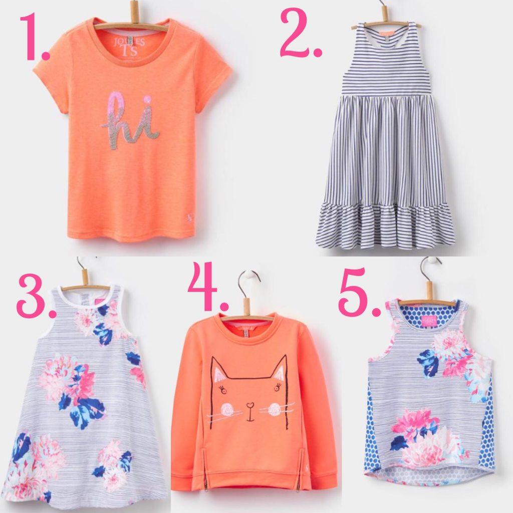 Joules Girls – Spring Style Wishlist