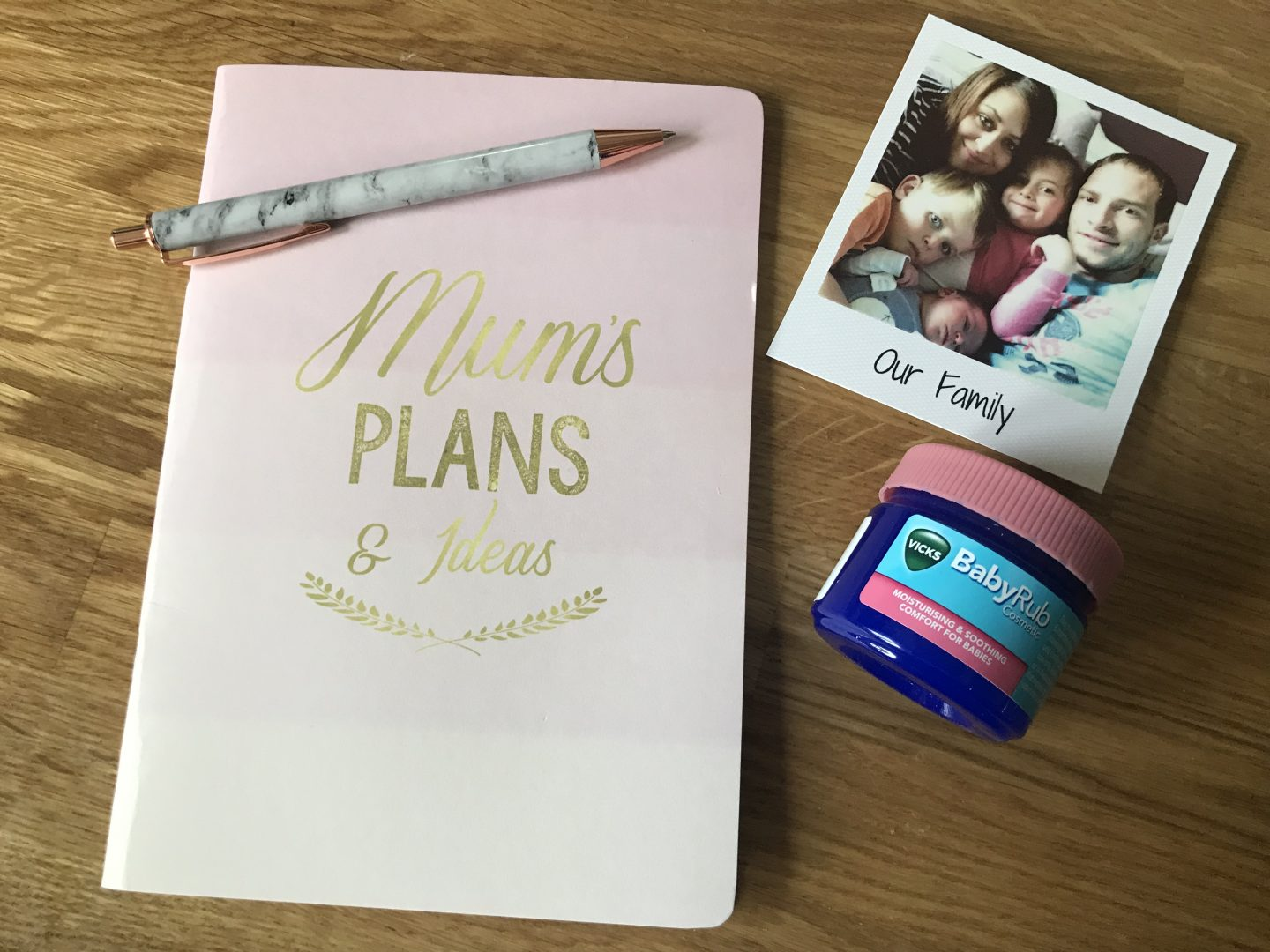 Dear Gemma… {A Letter To Myself As A First Time Mummy} #VicksBabyRub Challenge*