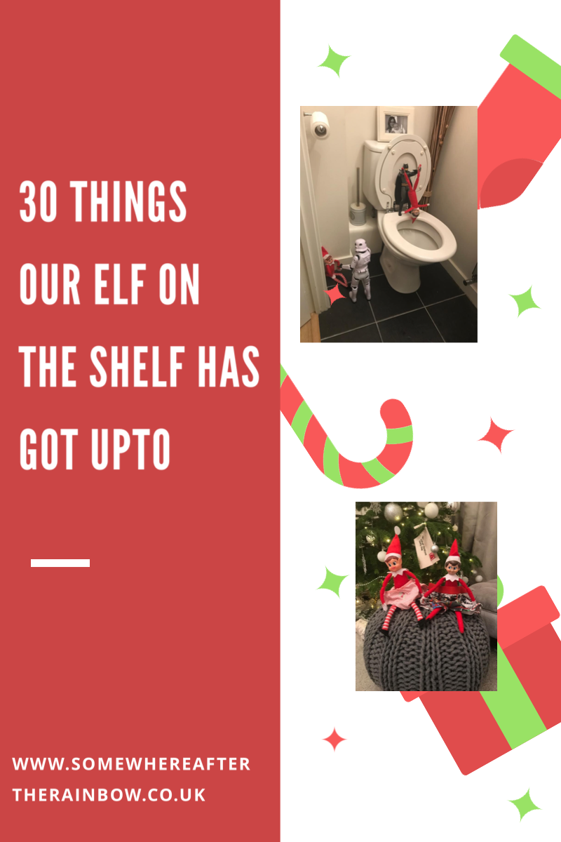 Elf on the Shelf  – What Our Elves have got upto…30 Ideas for cheeky elves